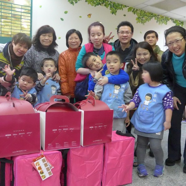 Silicon Motion delivered New Year's Dinner in the Severe Winter