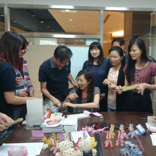 Donations by the staffs to help the D.D. Angels
