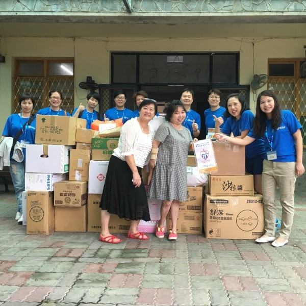 Donations by the employees to Catholic Huakuang Social Welfare Foundation
